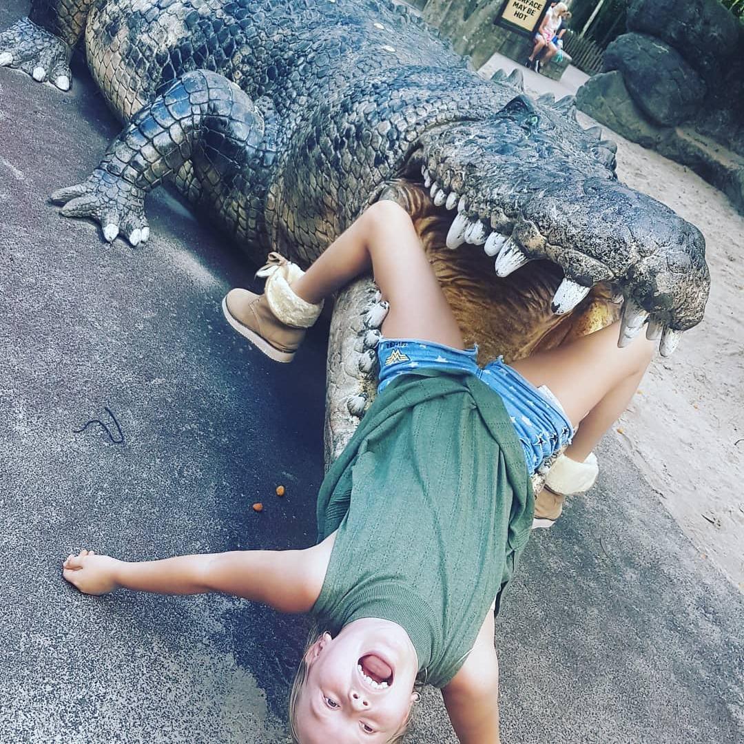 chris martin daughter having fun