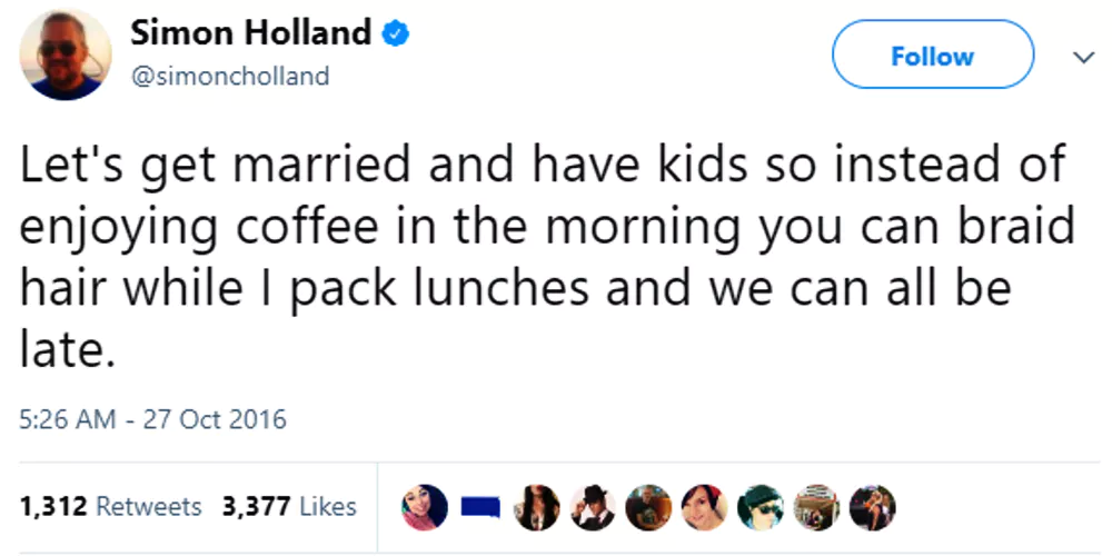 mornings in marriage with kids