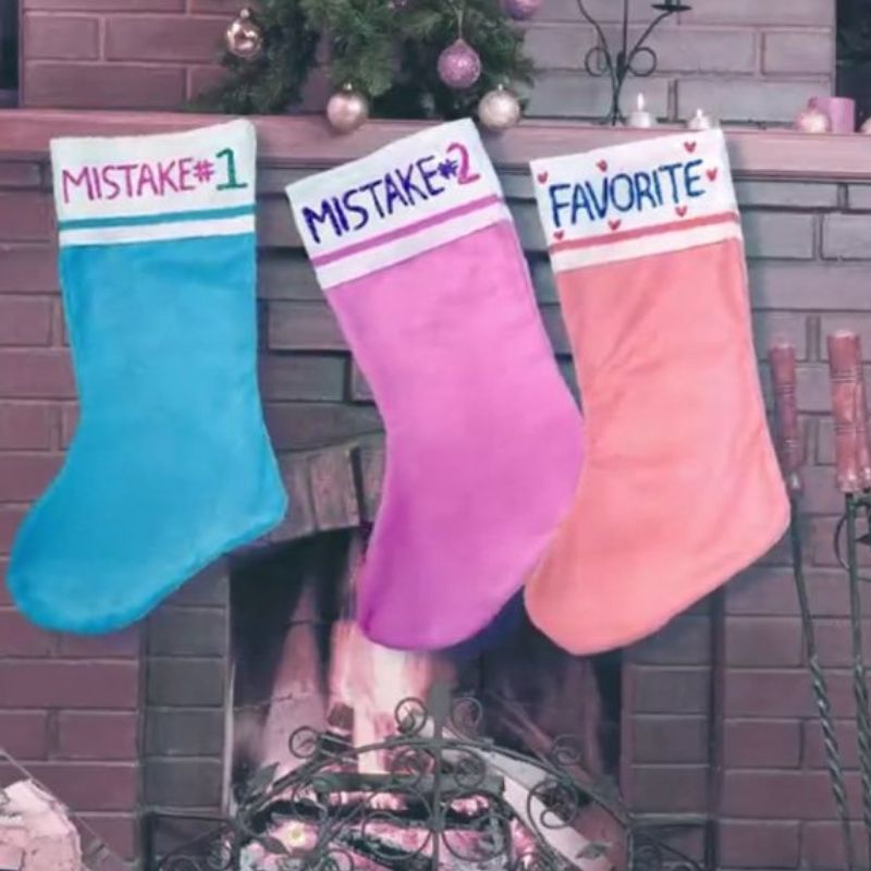 christmas stockings favorite + mistake 1 and 2