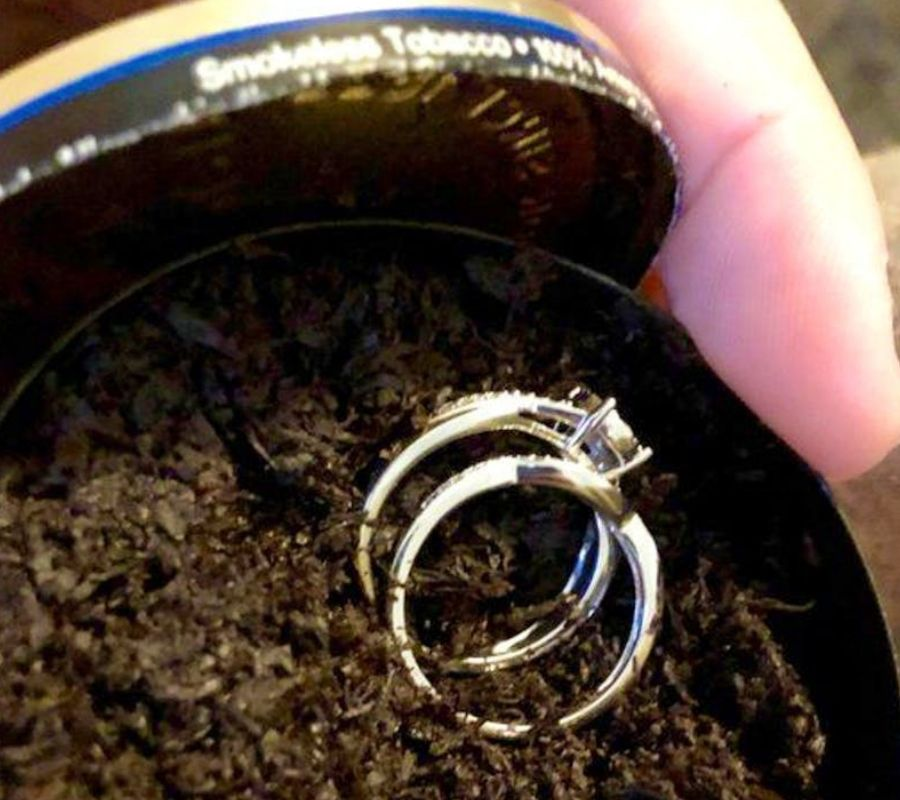 tobacco chew proposal rings
