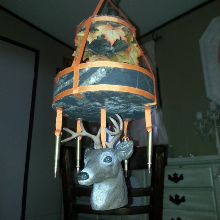mobile for baby with deers head