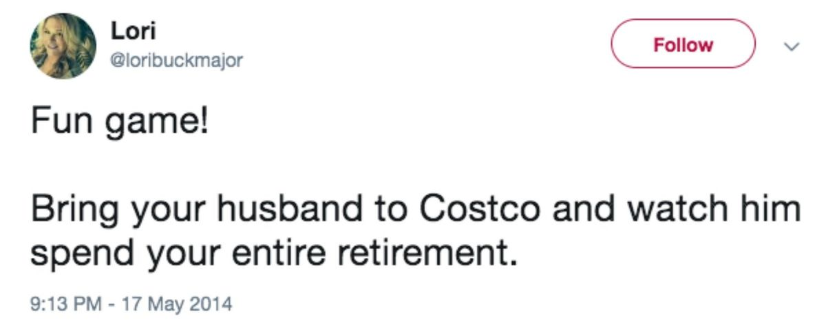 watch husband spend retirement fund