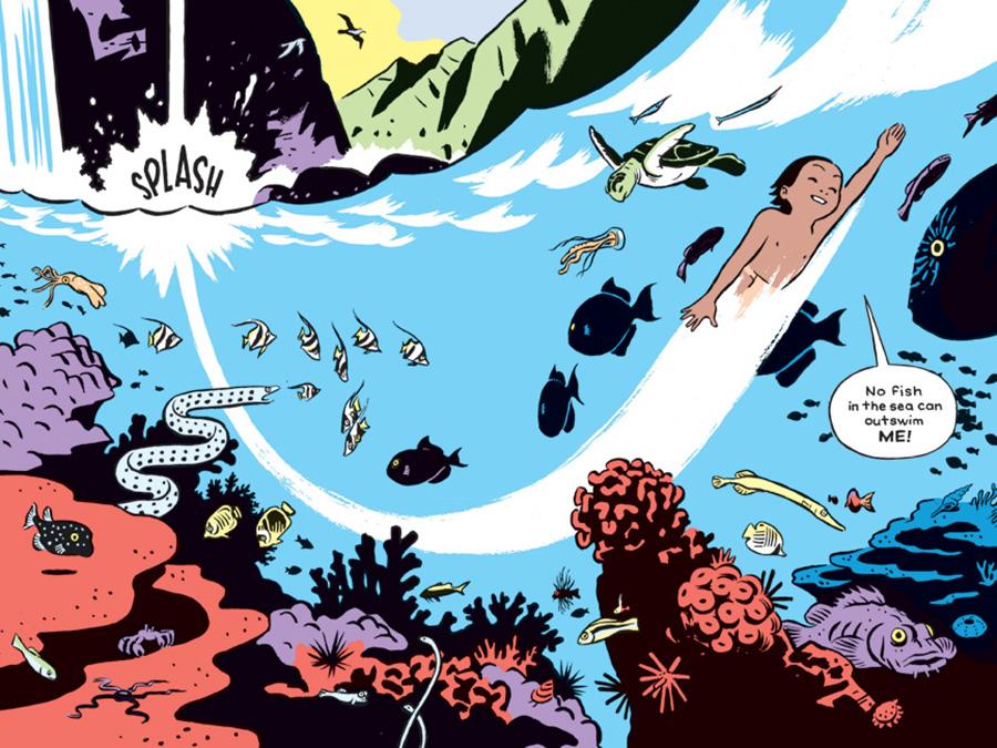 the-shark-king-comic-book