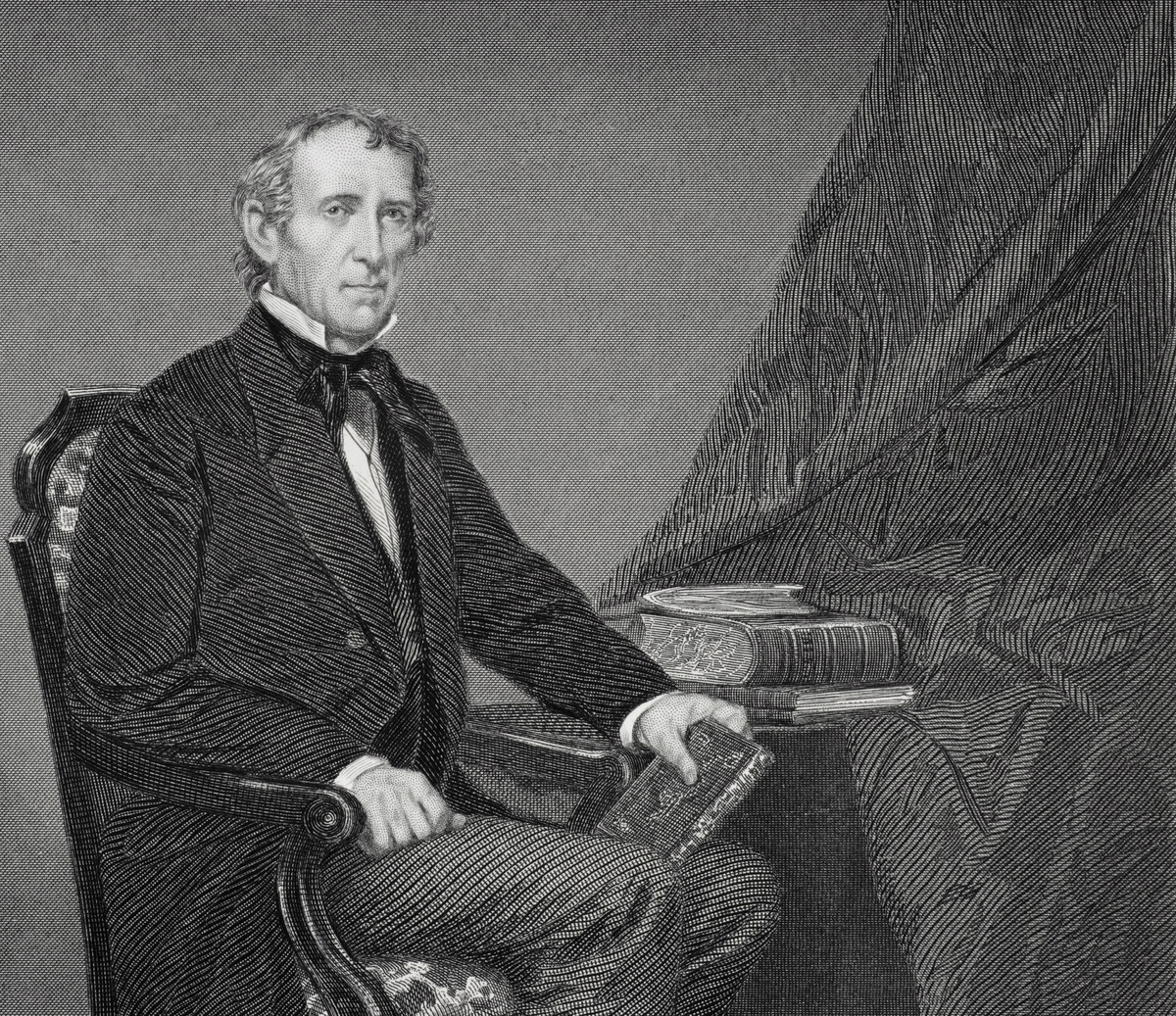 10th president of the US John Tyler
