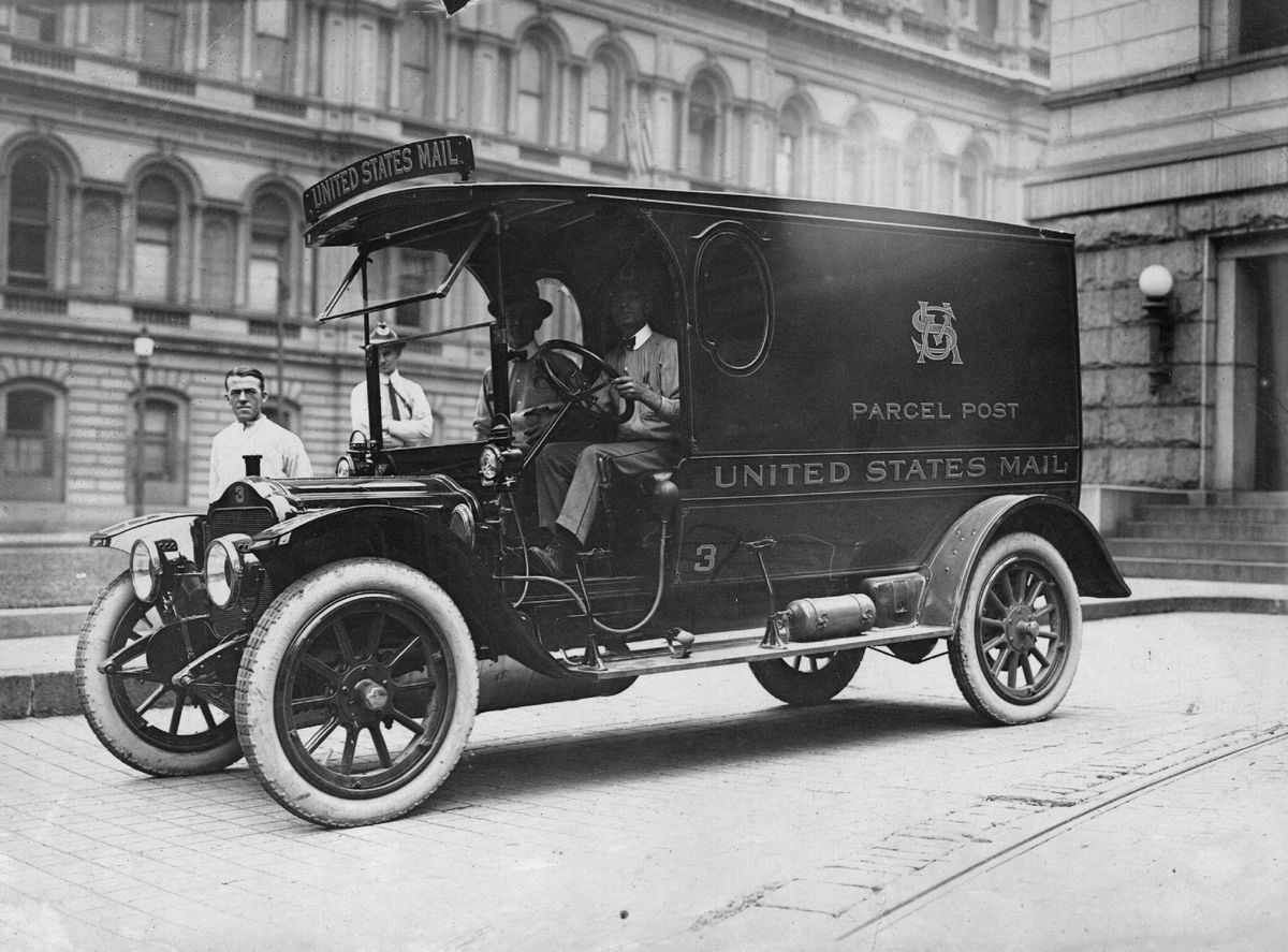 United States Mail Parcel Post truck