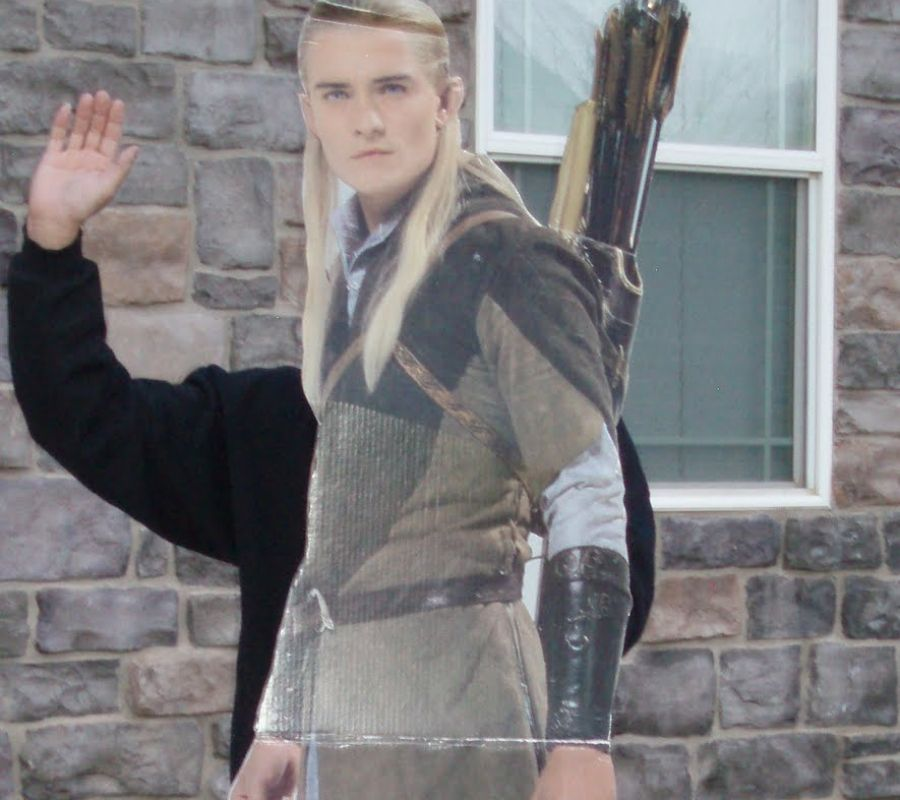 legolas looking paper thin