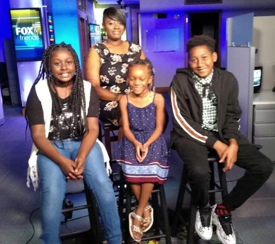 shaketha and her children