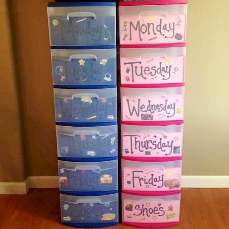 daily organizers for each kid