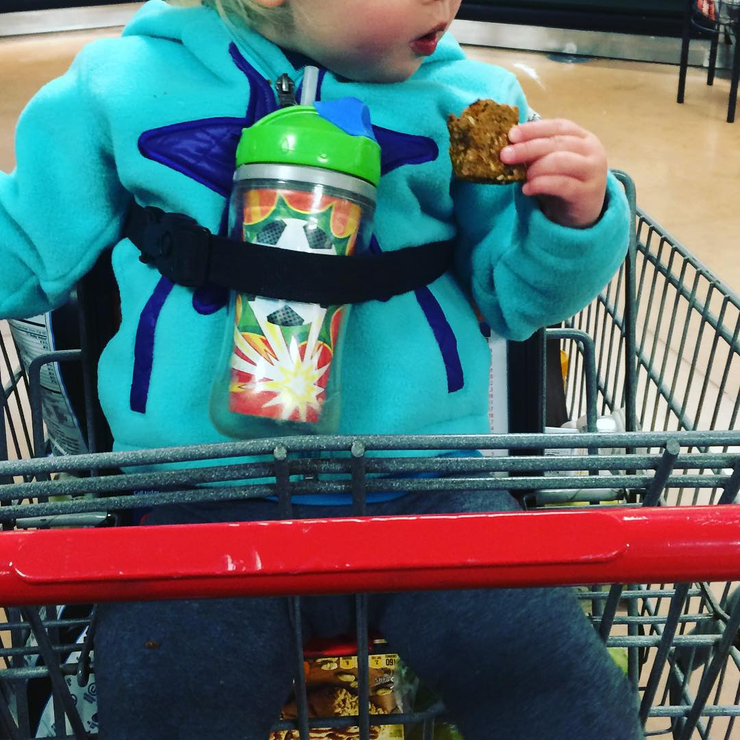 strapped in sippy cup