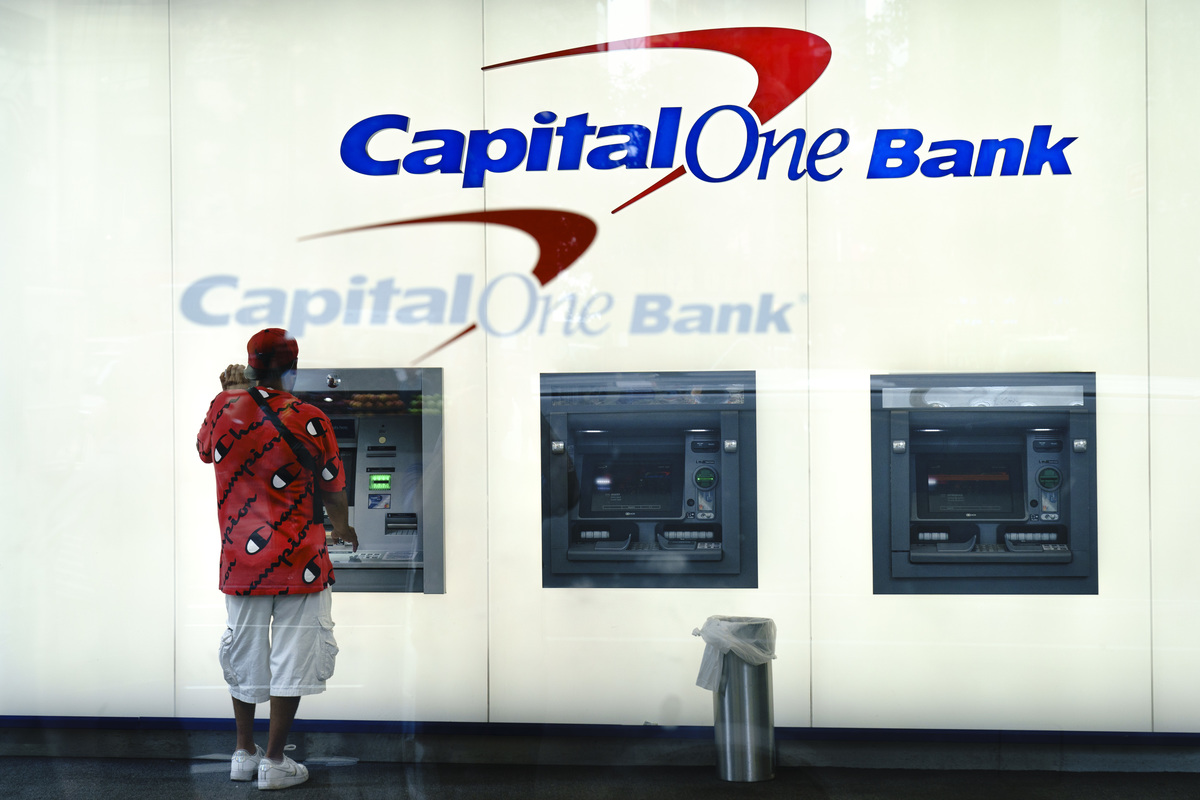 Capital One ATM in New York