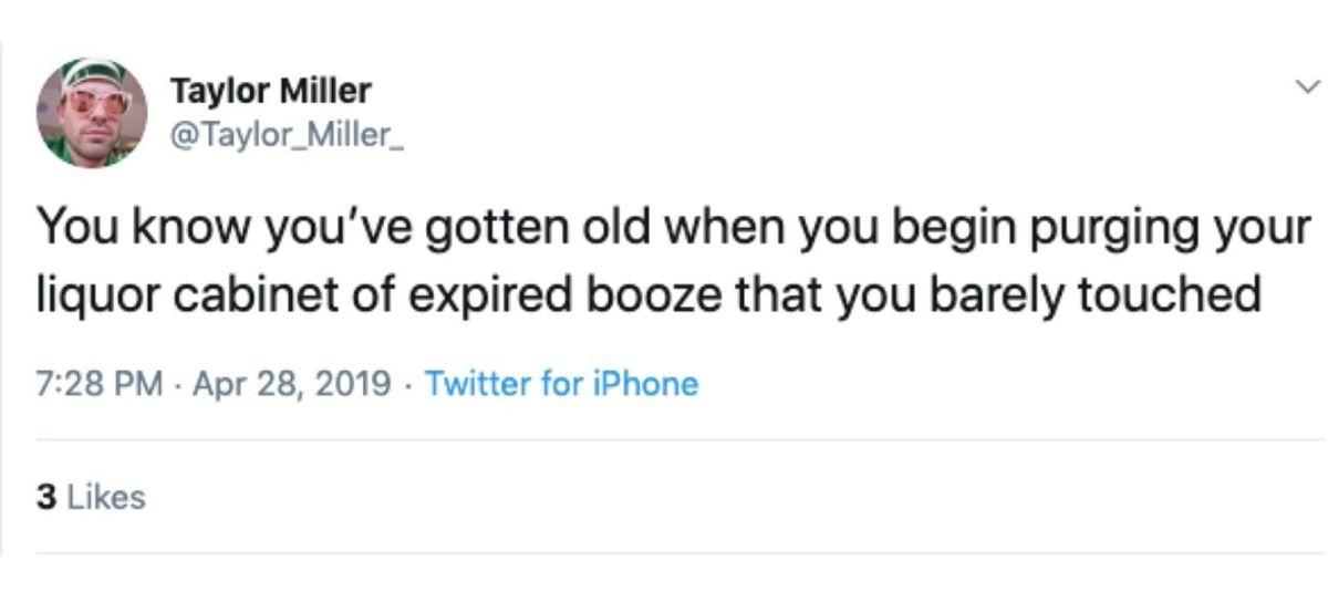 expired booze