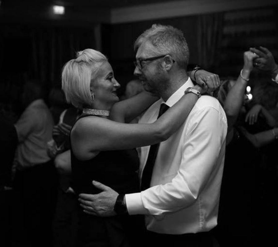 alexis and david dancing