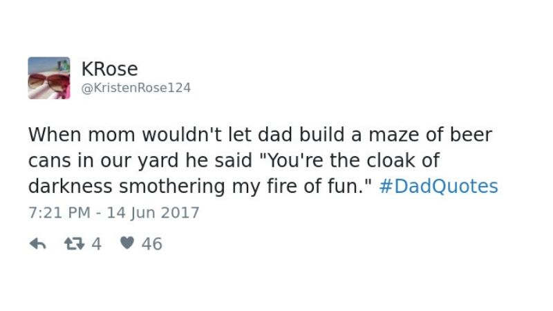 dads are too good tweet #7