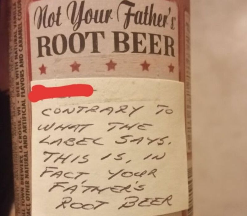 fathers root beer