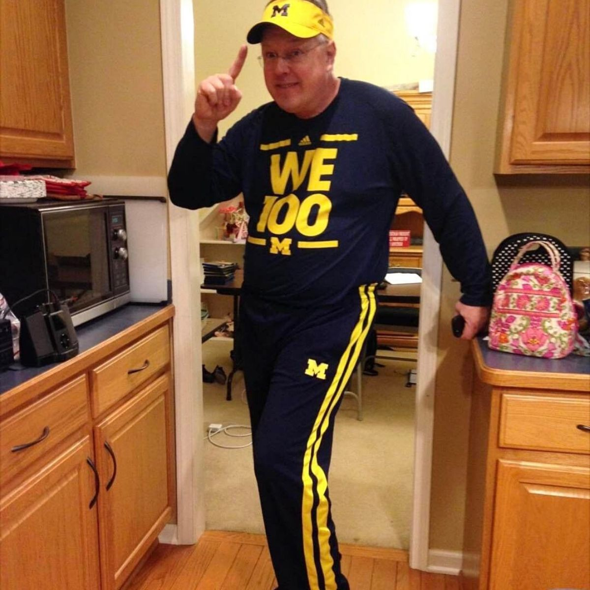 athleisure dad mode