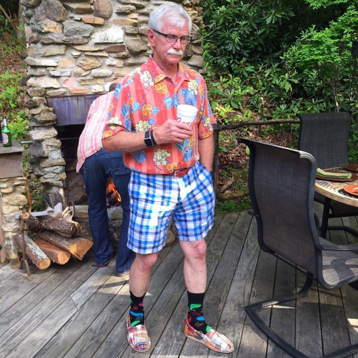 print wild dad fashion