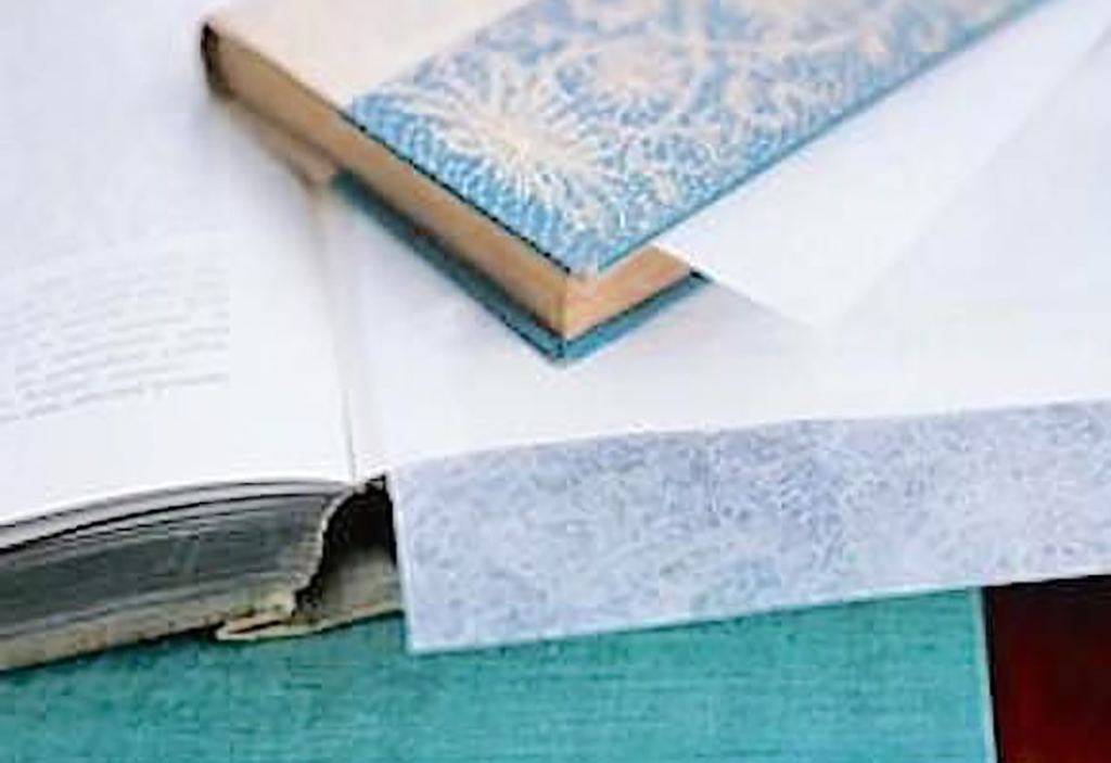 Dryer sheet in books