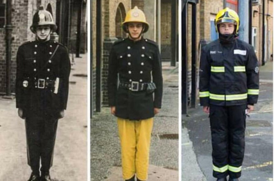 firefighters through the ages