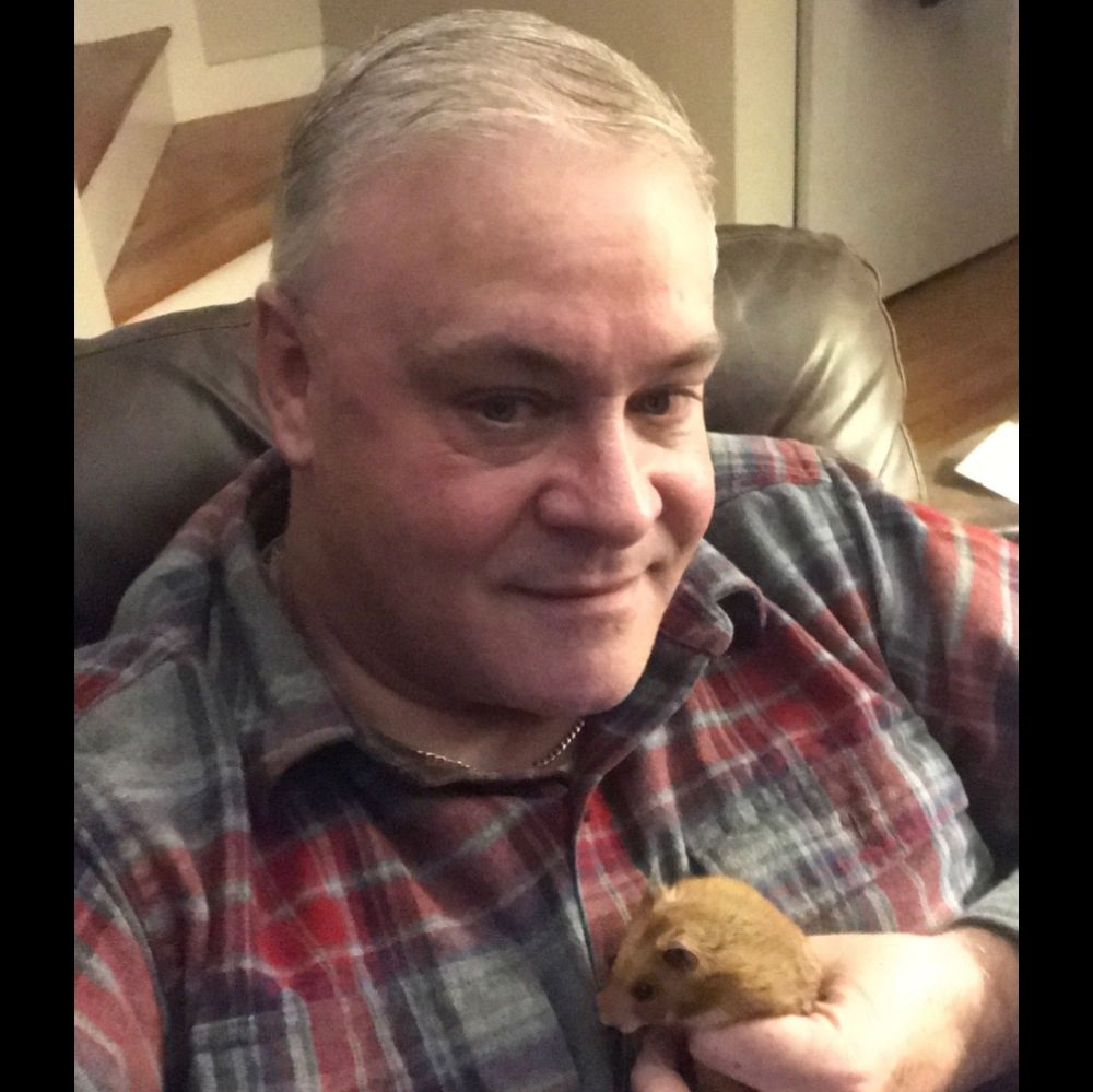 Dad holding chester