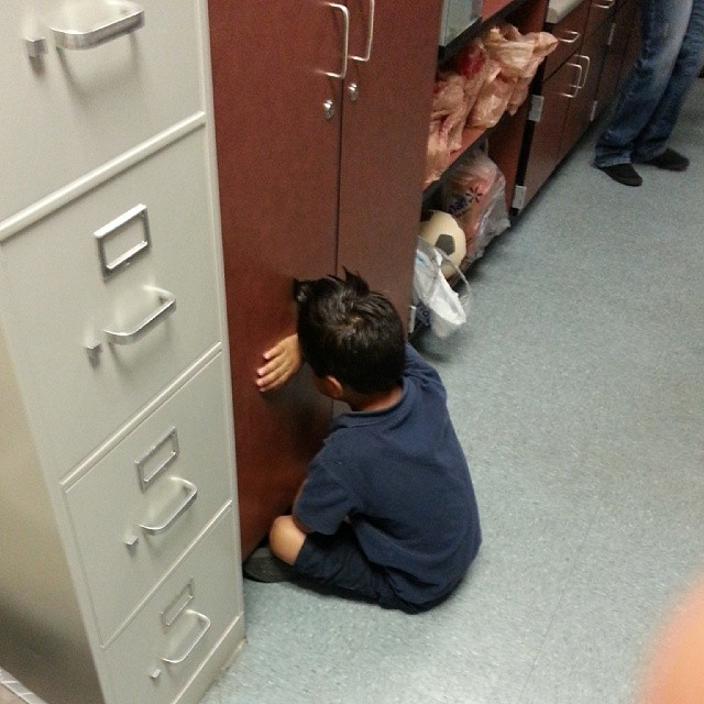 KID IN TIMEOUT