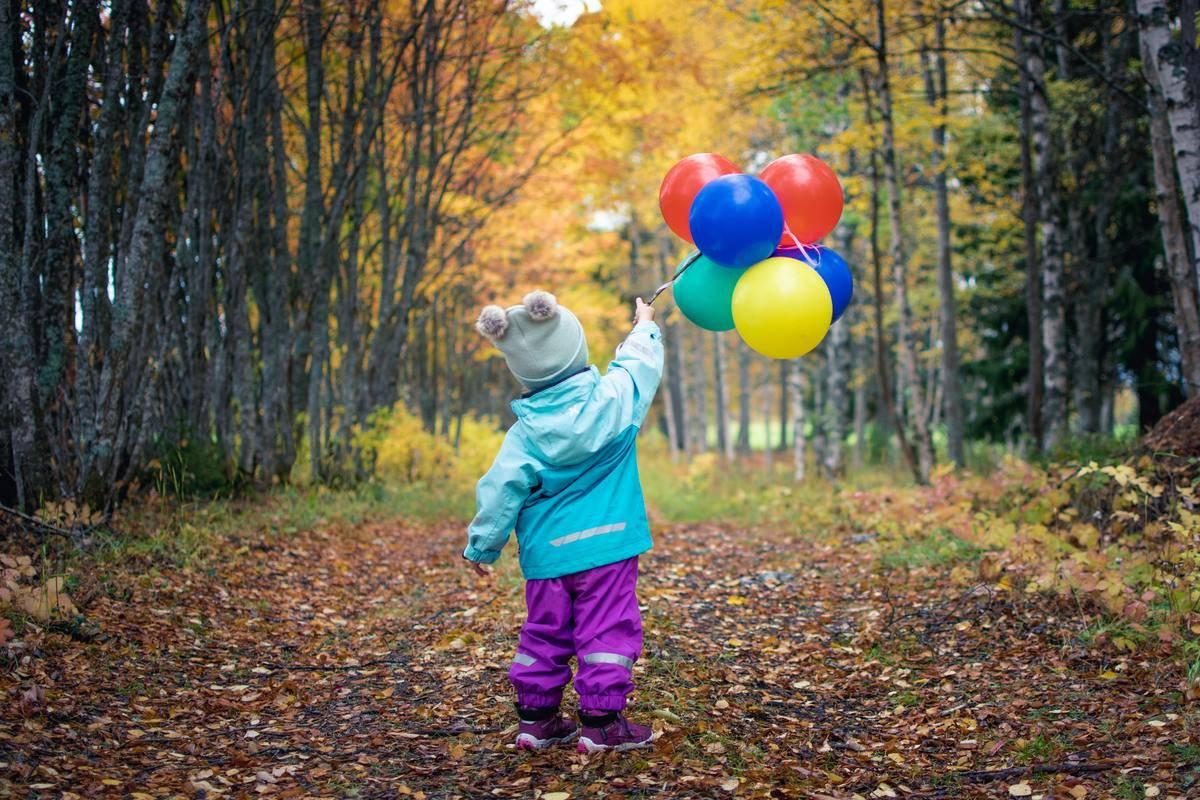 balloon walking