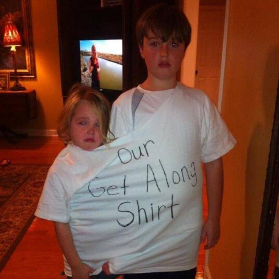 get along shirt for fighting kids
