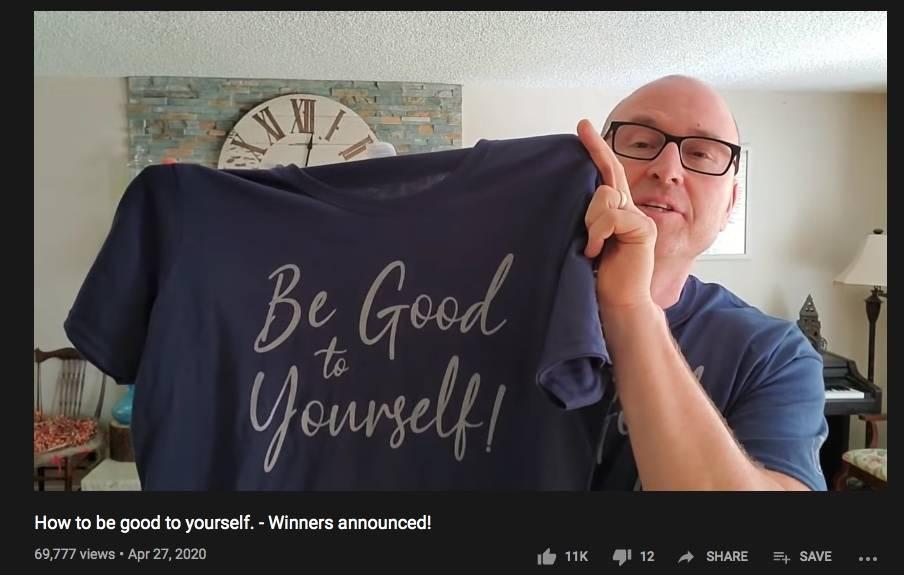 holding shirt