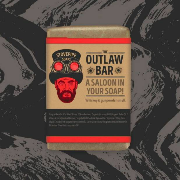 outlaw bar soap a saloon in your soap