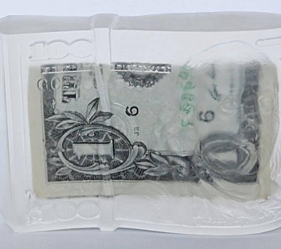 dollar soap in clear