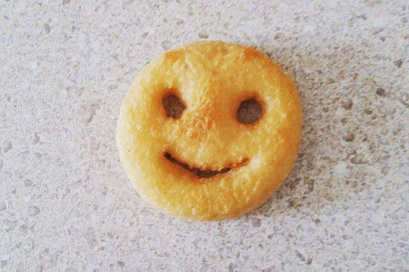 smile fries cant be eaten
