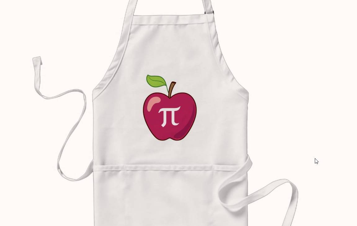 pi apron