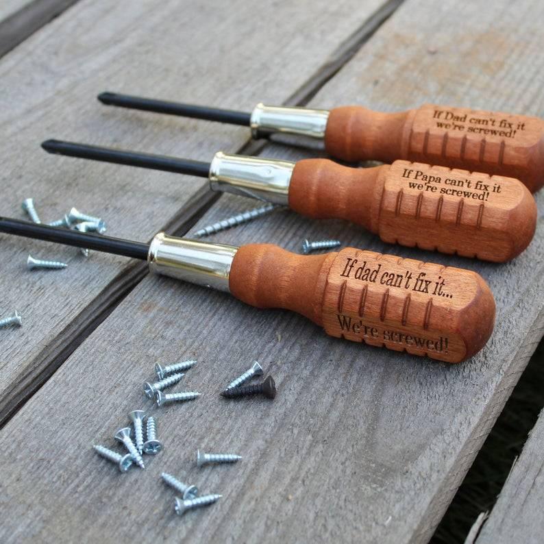 custom screwdriver engraving