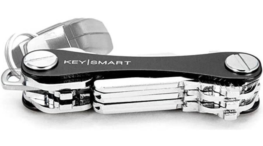 up close shot of keysmart