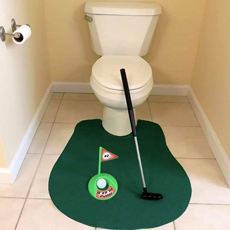 potty putter setup