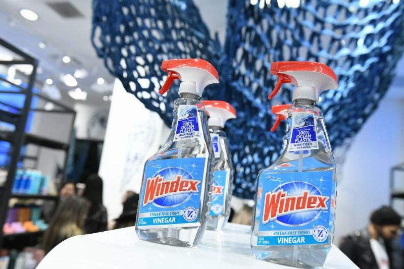 A view of Windex at Good For The Globe pop-up in The Carousel at Bloomingdale's 59th Street celebrates Mix Masters with Law Roach & Lauren Jauregui on March 14, 2019
