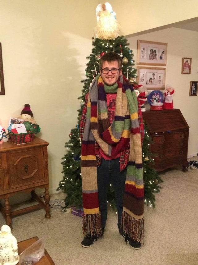 super long scarf