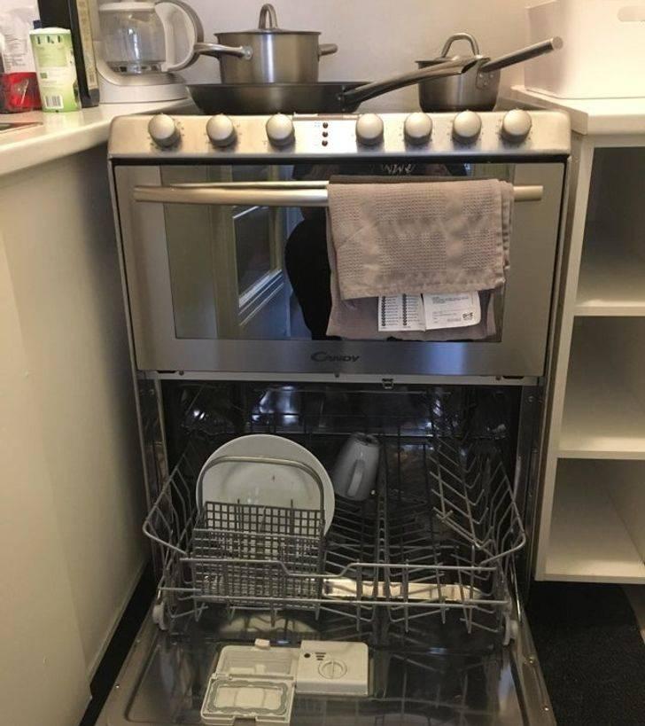 oven dishwasher