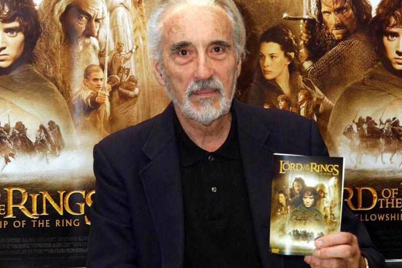 Christopher Lee - DVD launch