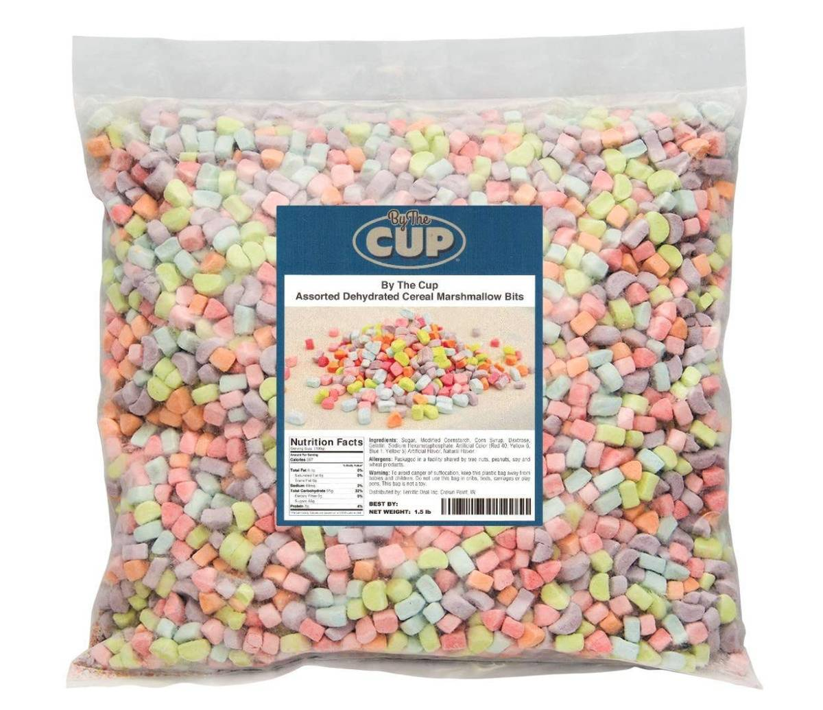 large bag of cereal marshmallows