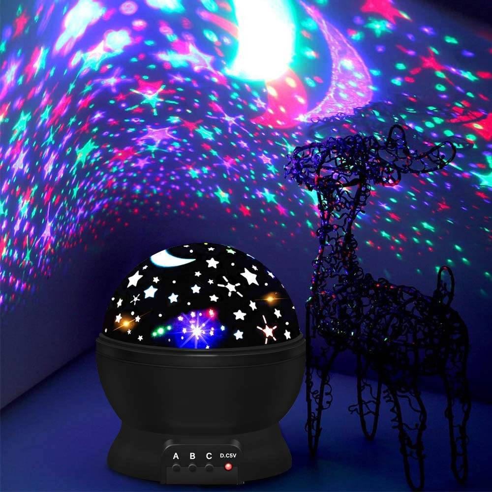 moon projector night lamp
