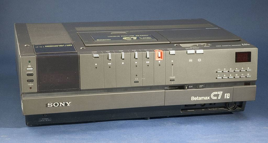 Sony launched the Betamax domestic videocassette recorder in Japan.
