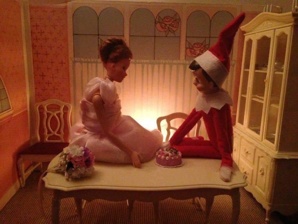 sixteen candles  elf on a shelf scene