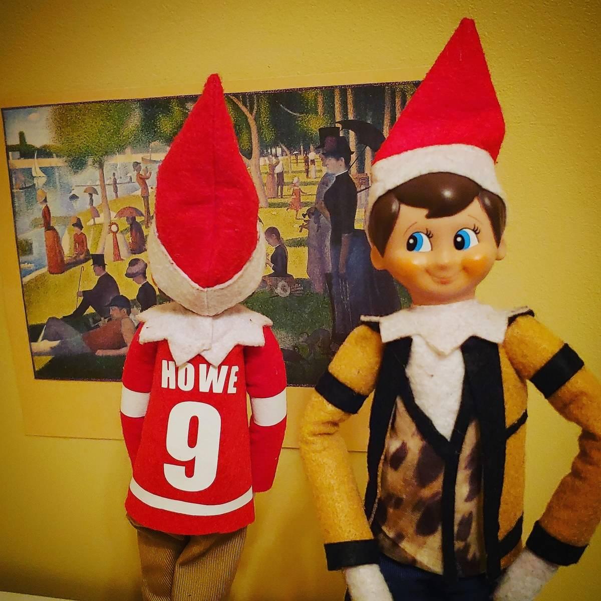 elves in ferris bueller costumes