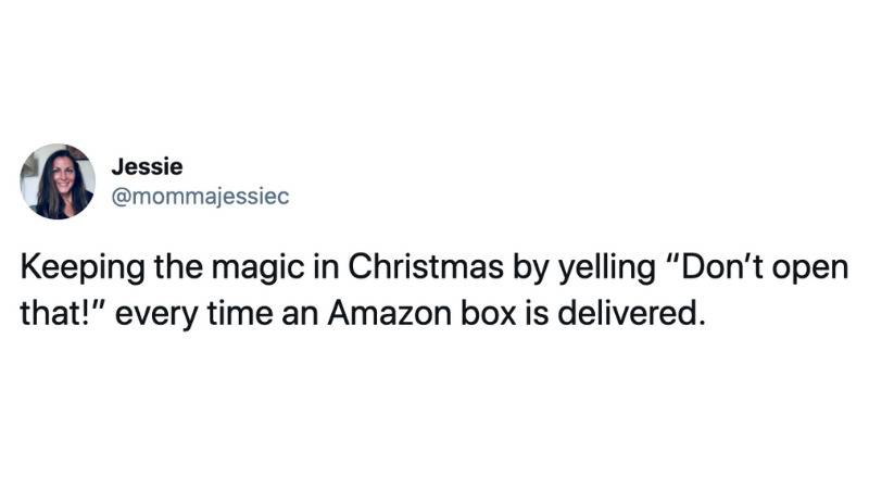 Keeping the magic in Christmas by yelling
