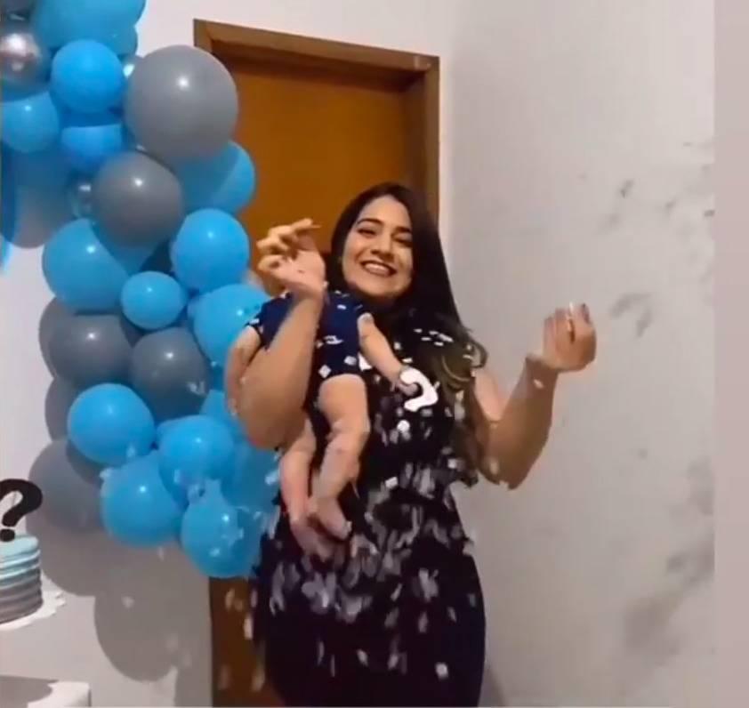 Millena Brandao Paternity Reveal Party