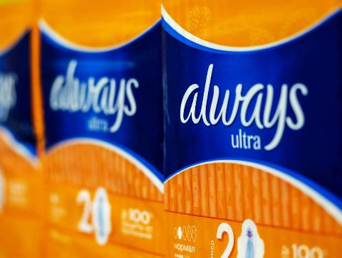 Always Ultra Pads seen in store