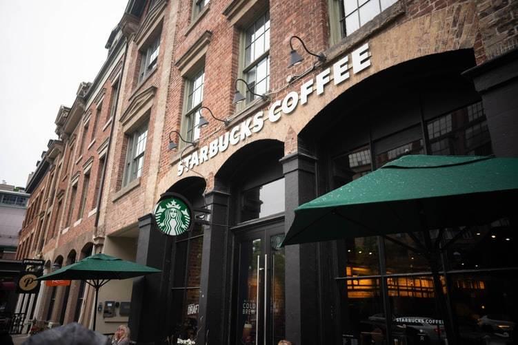 picture of starbucks coffee exterior