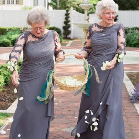 grandma flower girls