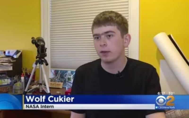 wolf cukier nasa intern interview